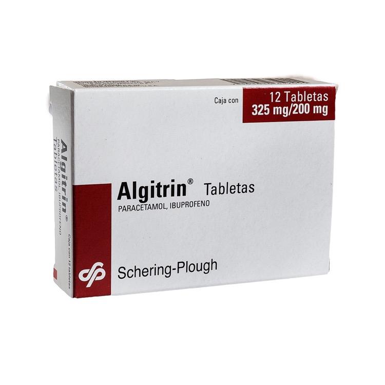 ALGITRIN 325/200MG TAB C12