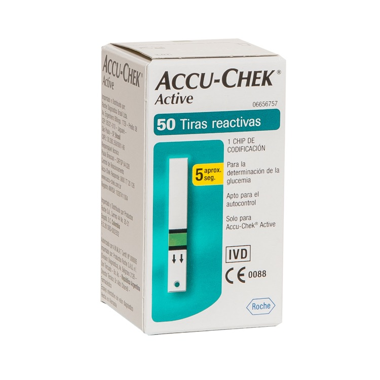 ACCU CHEK ACTIVE 50 STR
