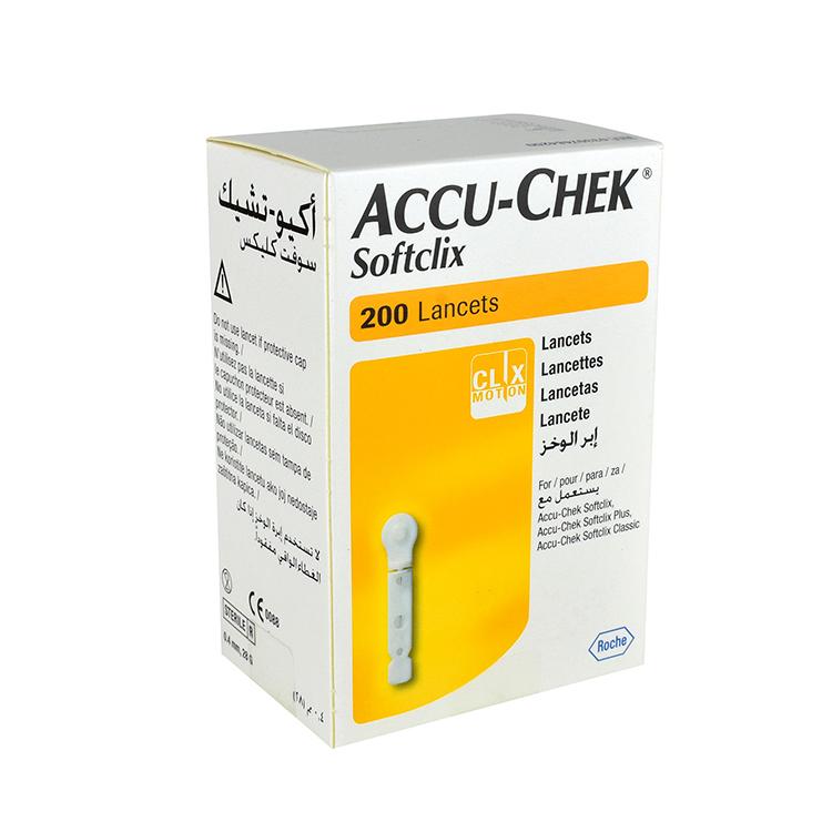 ACCU CHEK SOFTCLIX LANCET C200