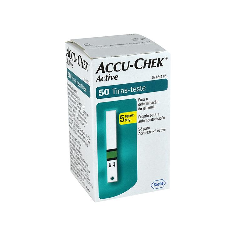 ACCU CHEK TIRAS REACT ACTV C50