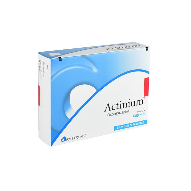 ACTINIUM 600MG TAB C20