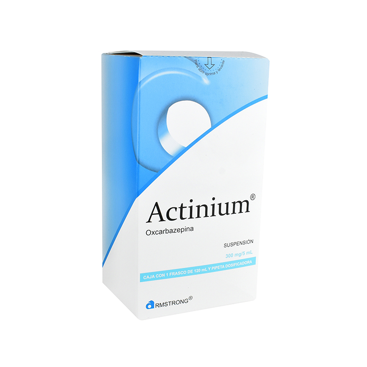 Actinium 300/5 Mg/Ml 1 Frasco Suspension 120 Ml