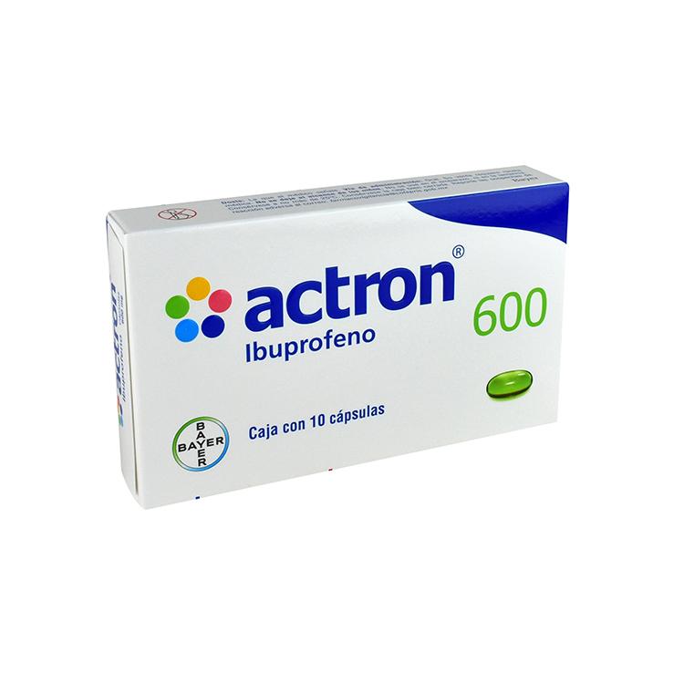 ACTRON 600MG CAP C10