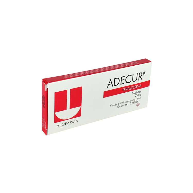 Adecur 2mg Tab C15