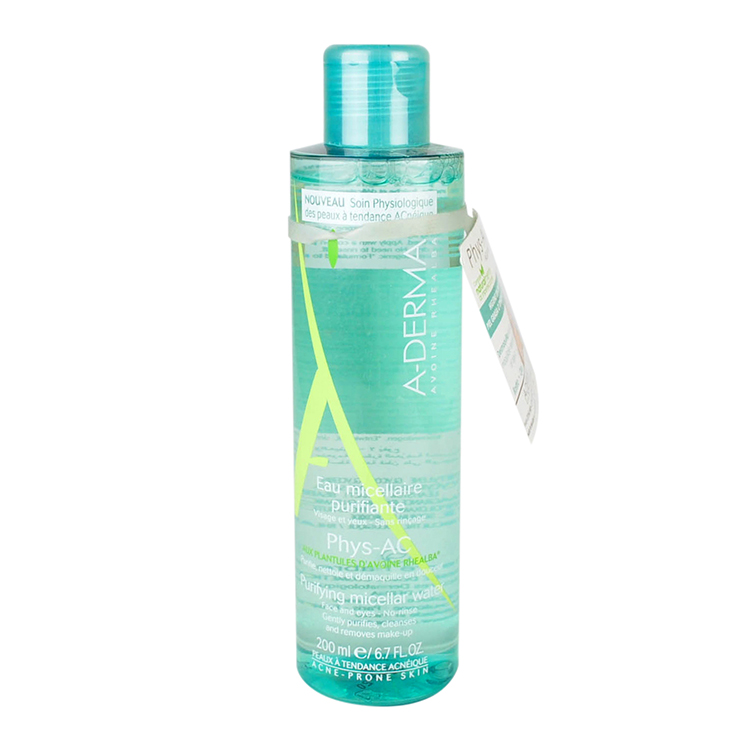 Aderma Phys-Ac Micelar Purificante 1 Frasco 200 Ml