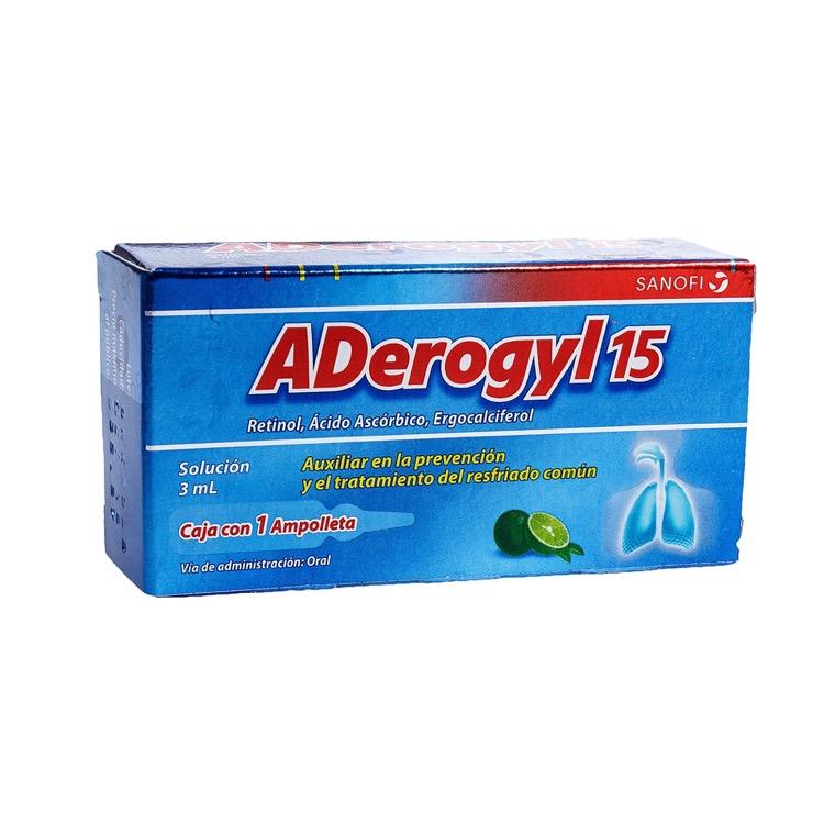 ADEROGYL 15 AMP ORAL 3ML C1