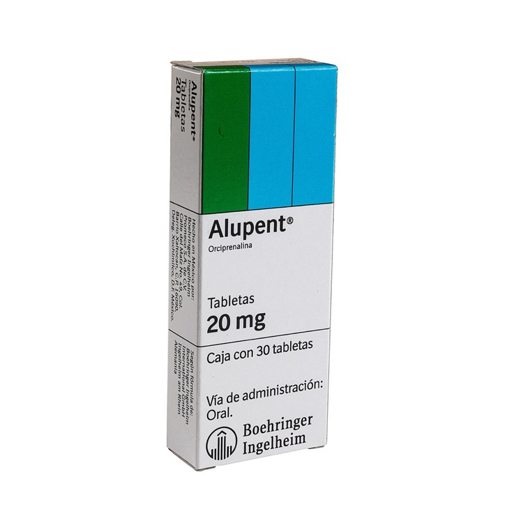 ALUPENT 20MG CPR C30