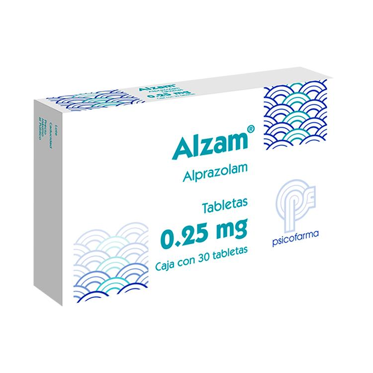 ALZAM 0 25MG C30