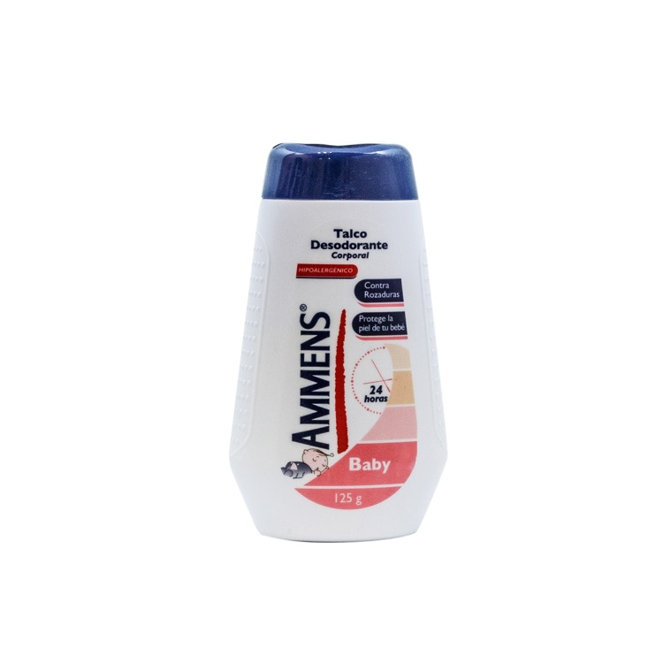 Ammens Baby 1 Bote Talco 125 Gr