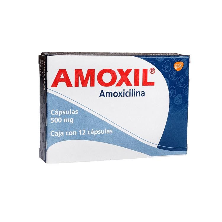 AMOXIL 500MG CAP C12