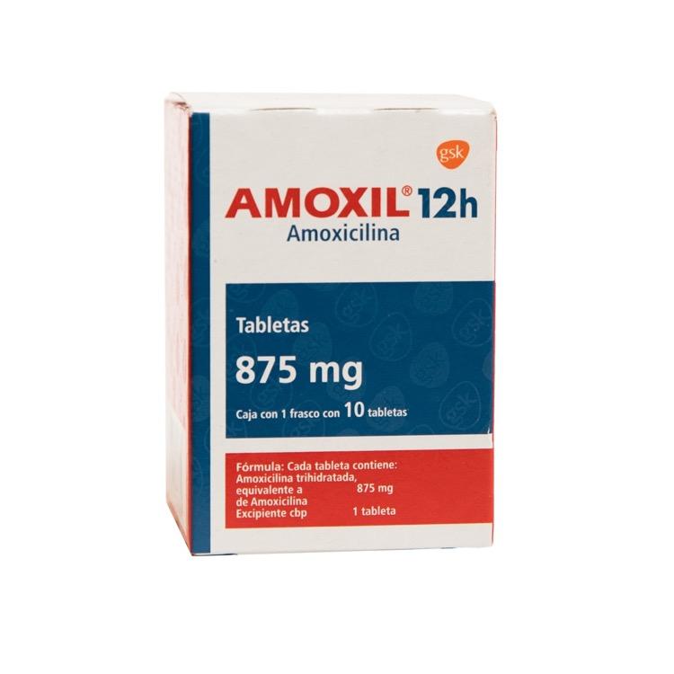 AMOXIL 12H 875MG TAB C10