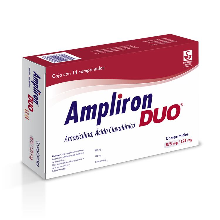 AMPLIRON DUO 875/125MG CPR C14
