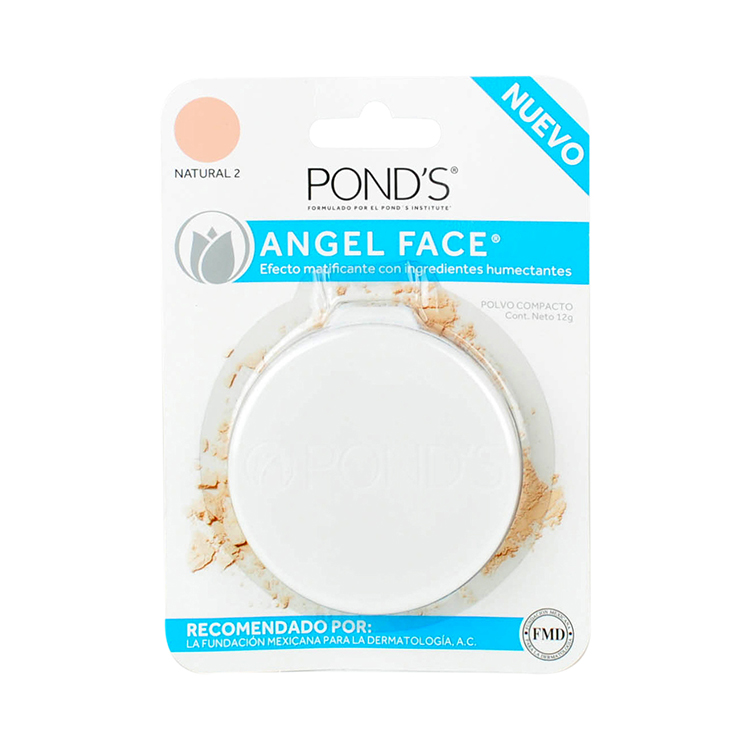 Angel Face Natural Maquillaje 1 Blister Polvo 12 Gr