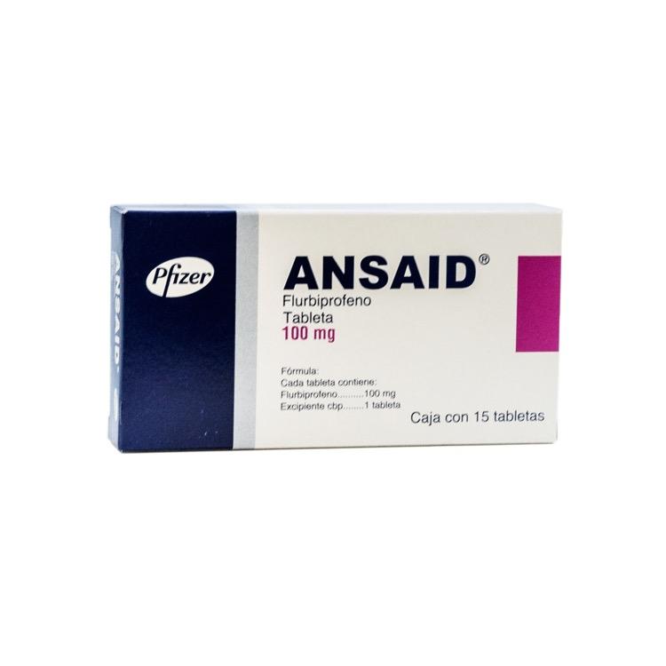 ANSAID 100MG GRAG C15