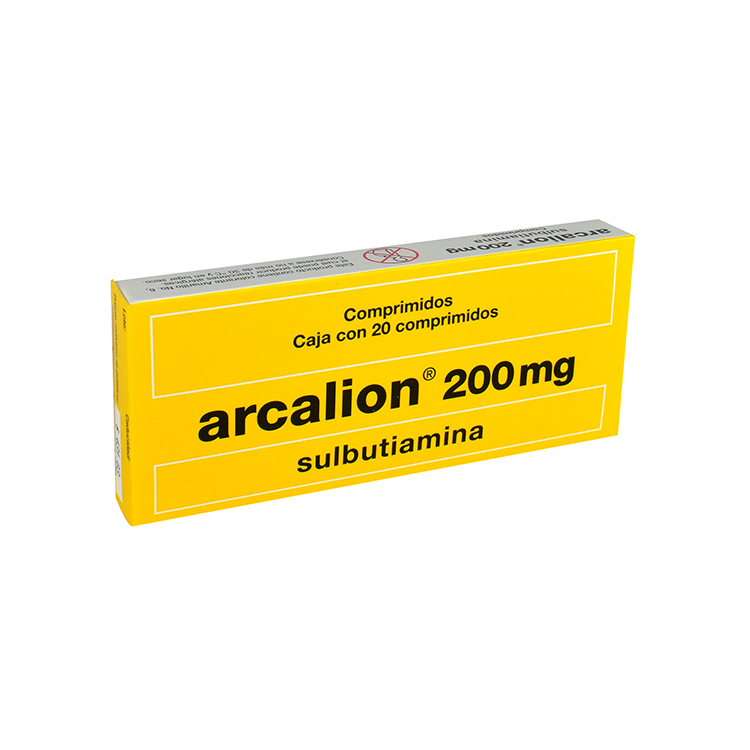 ARCALION 200MG CPR C20