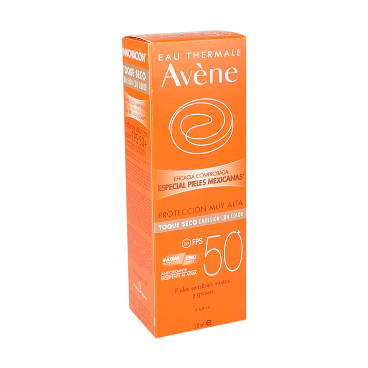AVENE BLOQ SECO COLOR 50ML