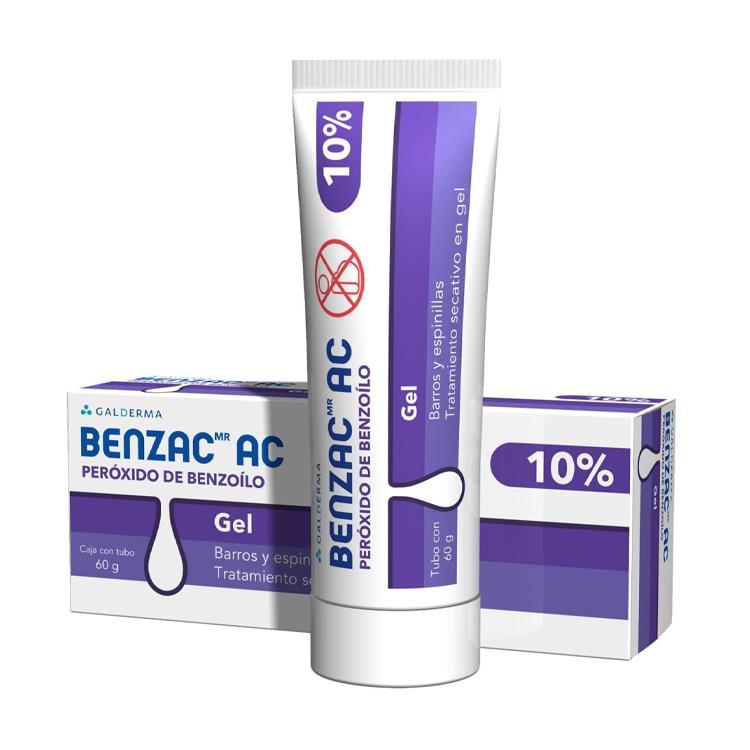 BENZAC AC 10% GEL 60G