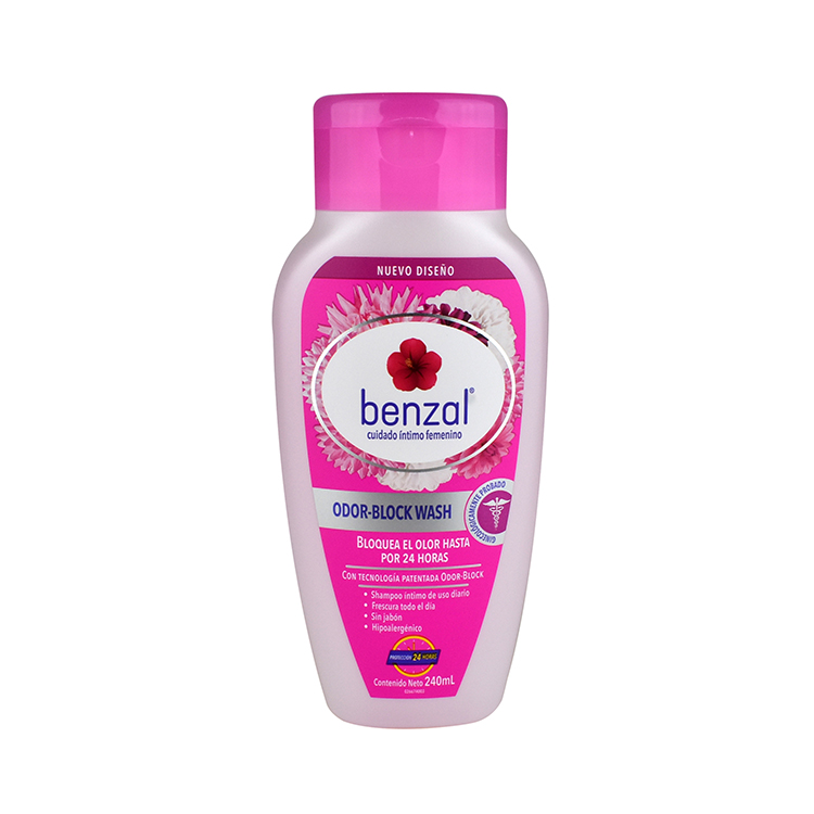 Benzal Shampoo Odor Block 1 Bote 240 Ml