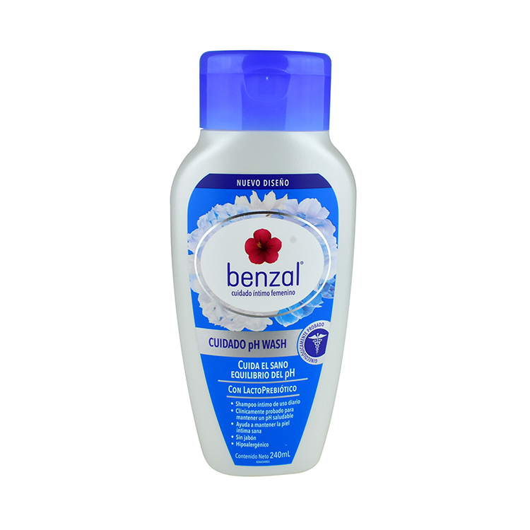 Benzal Wash Uso Diario Ph 1 Frasco 240 Ml