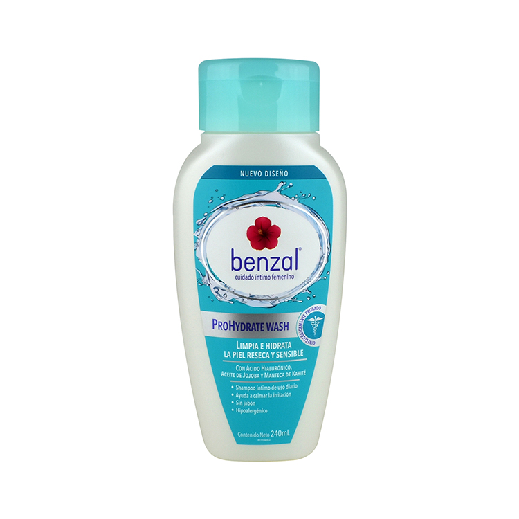 Benzal Wash Uso Diario Prohydractive 1 Frasco 240 Ml