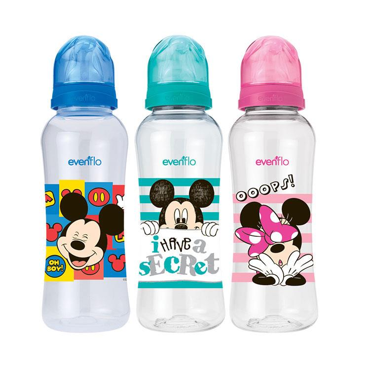 Evenflo Disney Flujo Medio 8 Onzas 1 Botella 240 Ml