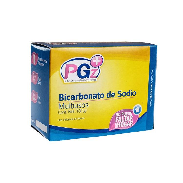 Bicarbonato De Sodio Caja 100 Gr