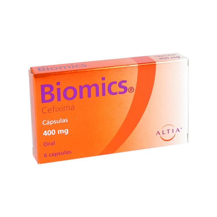 BIOMICS 400MG CAP C6