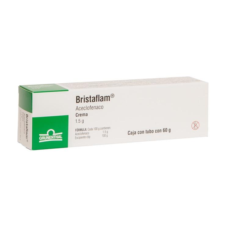 Bristaflam 1.5 Gr 1 Tubo Crema 60 Gr