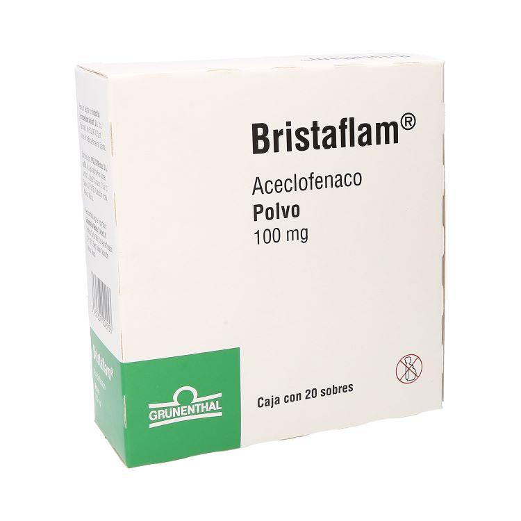 Bristaflam Polvo 100 Mg Caja 20 Sobres