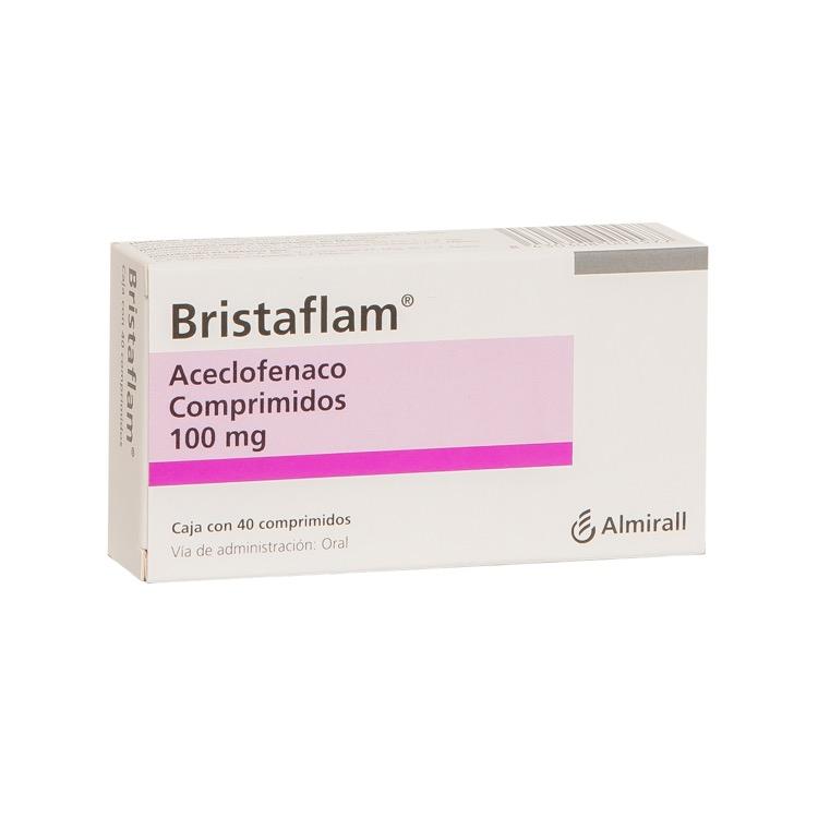 Bristaflam 40 Mg Caja 40 Comprimidos