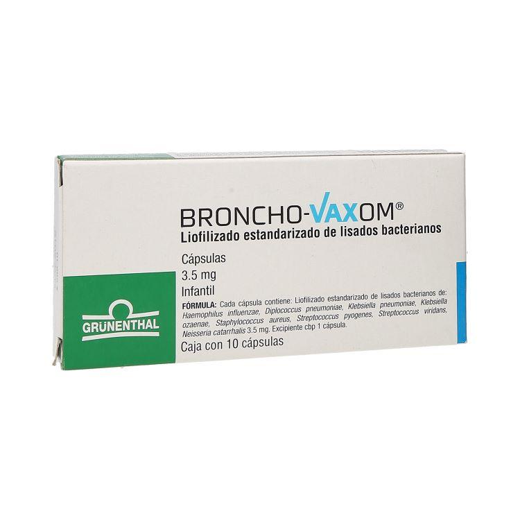 BRONCHO VAXO INF 3 5MG CAP C10