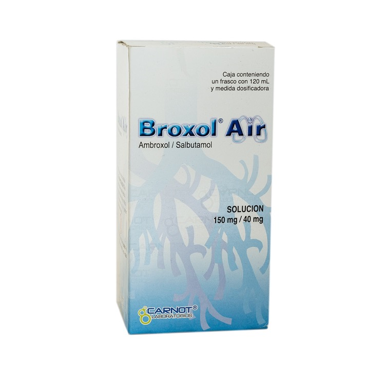 BROXOL AIR 150MG SOL 120ML