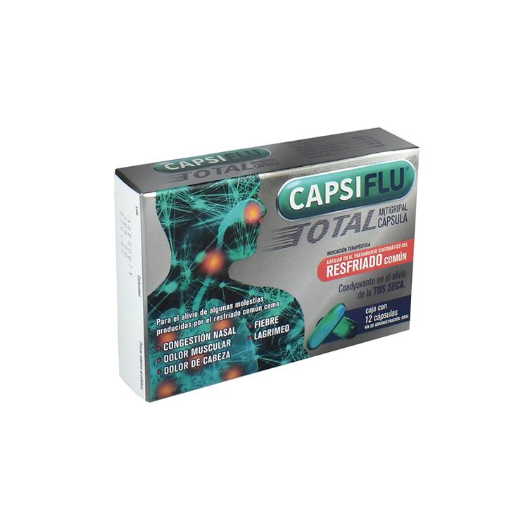 CAPSIFLU TOTAL CAP C12