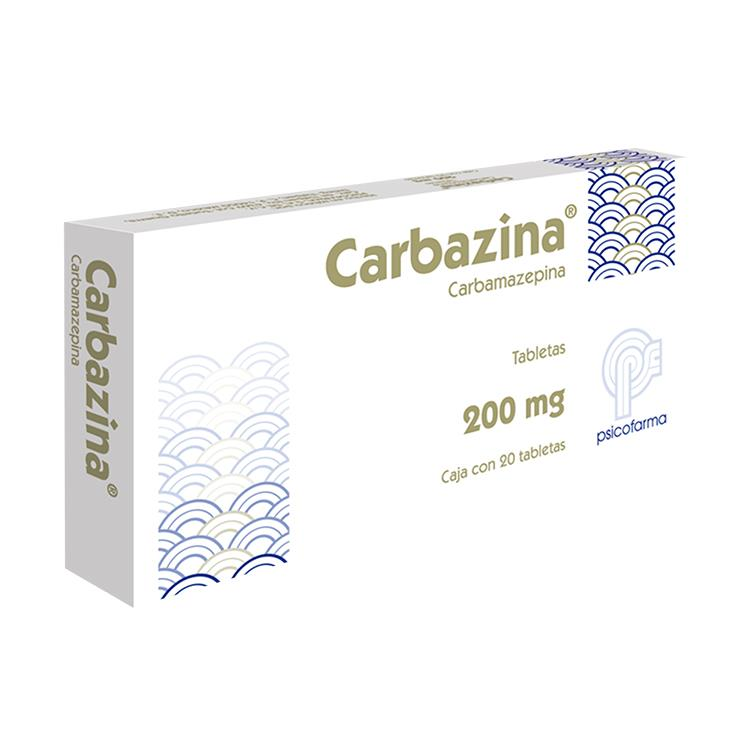 CARBAZINA 200MG TAB C20