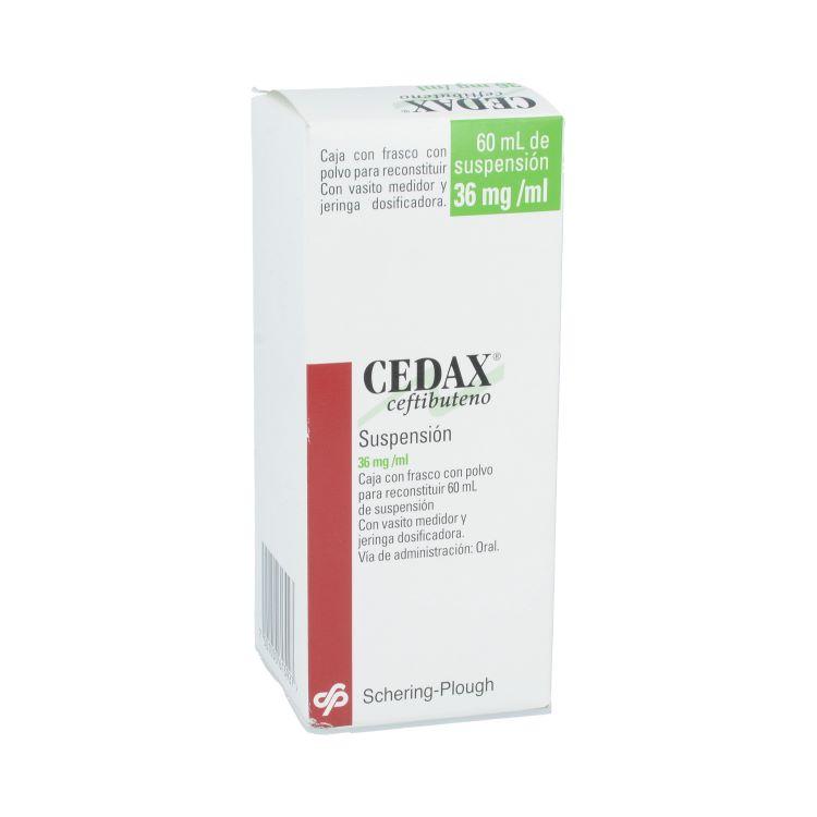 CEDAX 36MG SUSP 60ML
