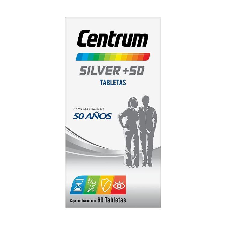 Centrum Silver Caja 60 Tabletas