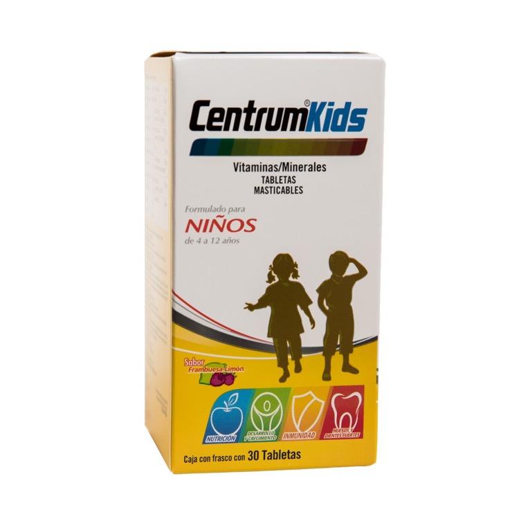 Centrum Kids Caja 30 Tabletas