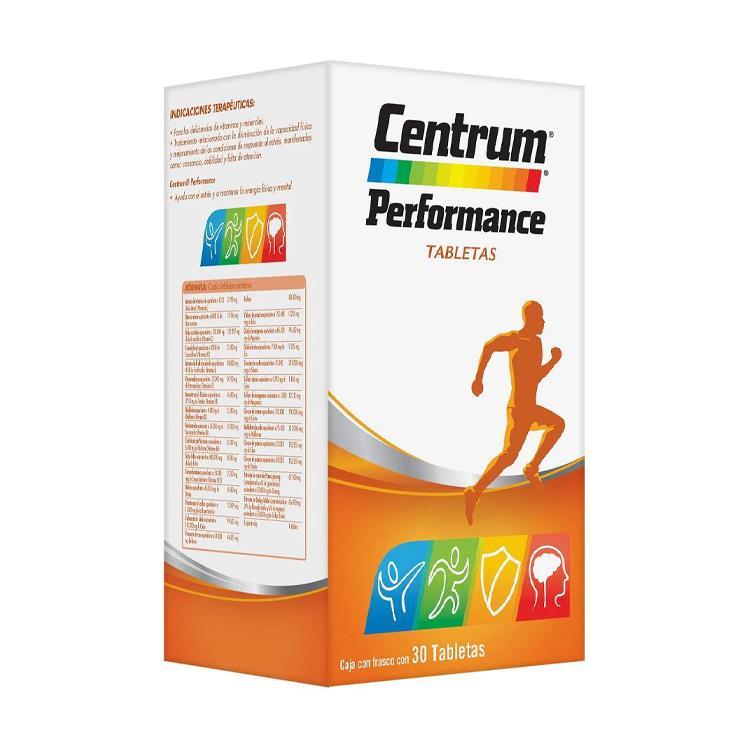 Centrum Performance Caja 30 Tabletas