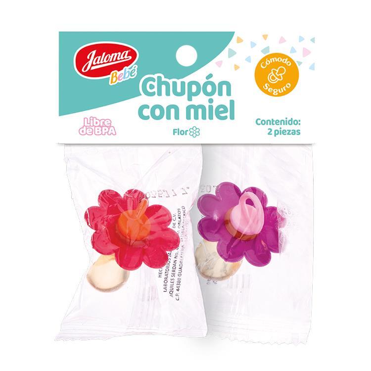 Chupon Flor Con Miel 1 Blister 2 Piezas