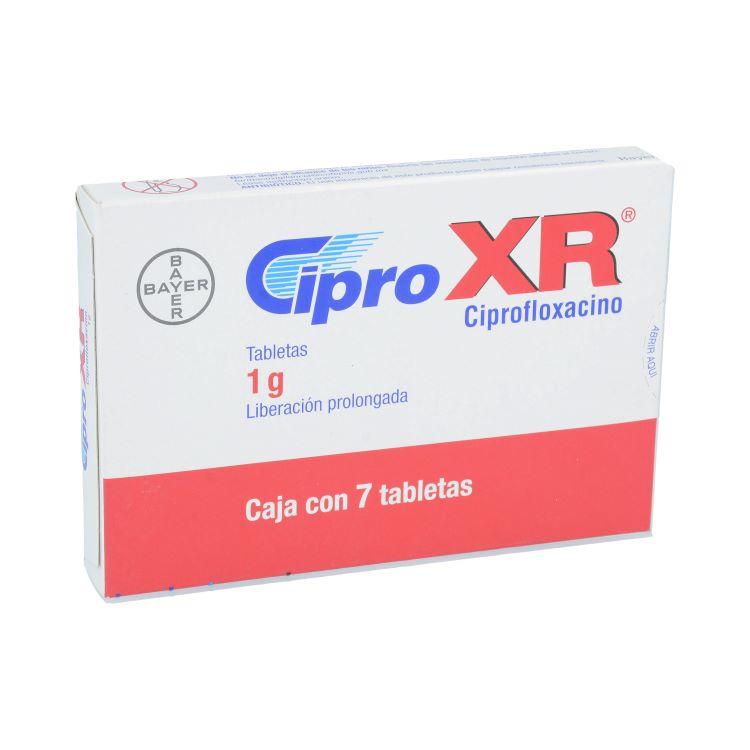 CIPRO XR 1G CPR C7