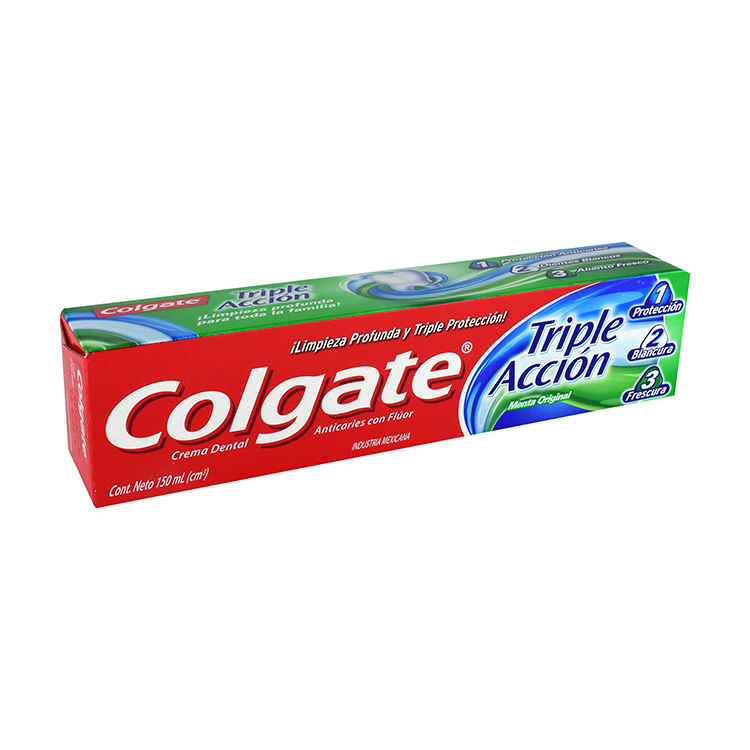 Colgate Triple Accion 1 Tubo 150 Ml