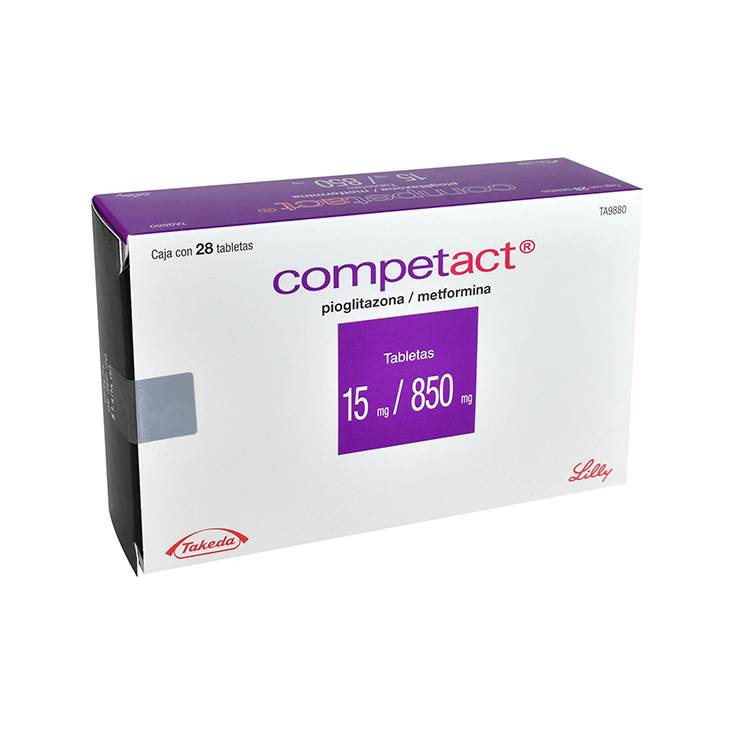 COMPETACT 15/850MG TAB C28