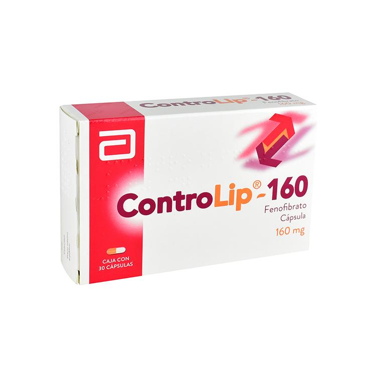 CONTROLIP 160MG CAP C30