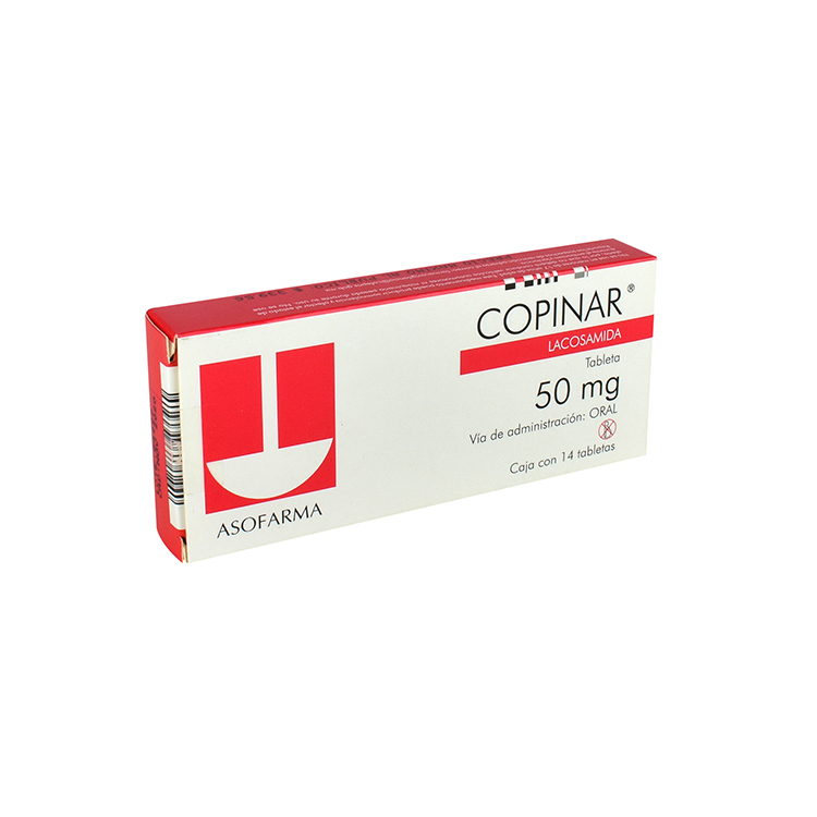 Copinar 50mg Tab C14