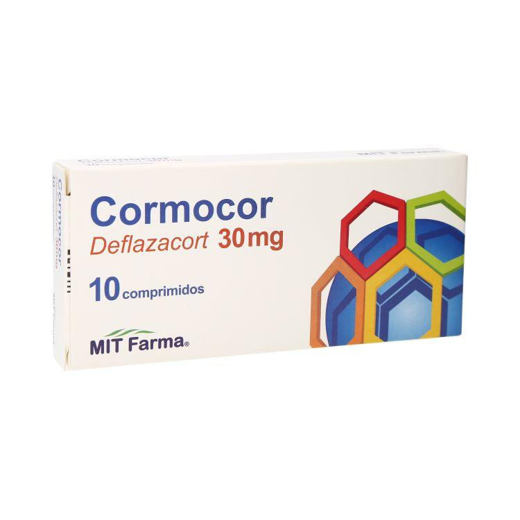 Cormocor 30 Mg 1 Caja 10 Comprimidos