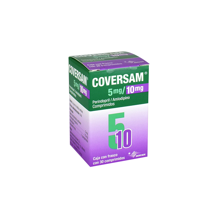 COVERSAM 5/10MG CPR C30