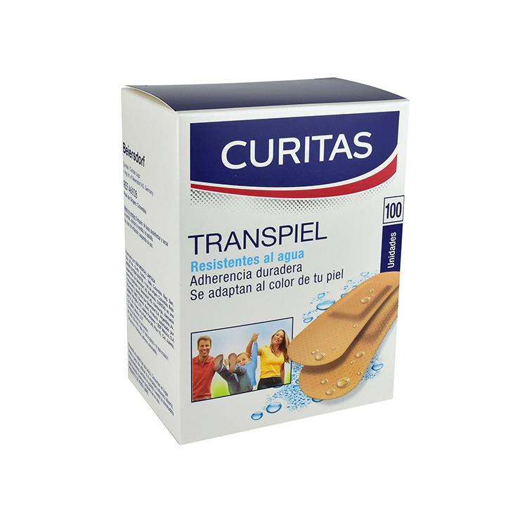 Curitas Transpiel Antisep Caja