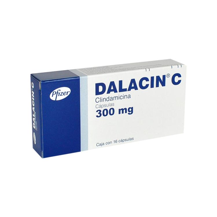 Dalacin C 300 Mg Caja 16 Capsulas