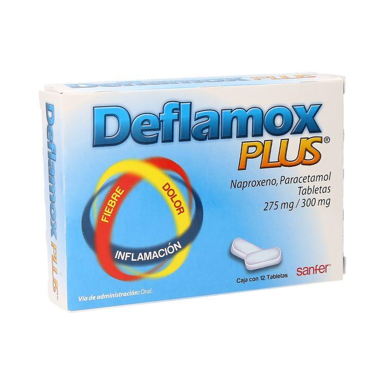 DEFLAMOX PLUS C12TAB 275/300MG