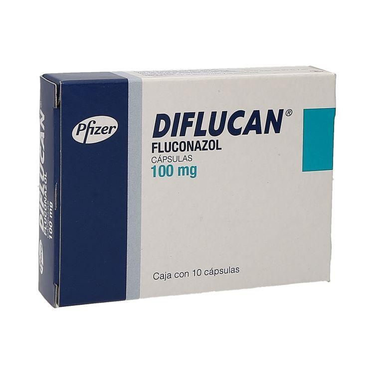 DIFLUCAN 100MG CAP C10